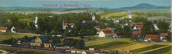 Dawna panorama Nowego Kościoła z około 1929r.